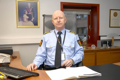Politistasjonssjef Brian Jacobsen i Sandefjord-politiet