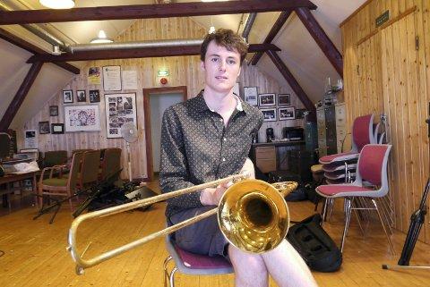 ARRANGØR OG KOMPONIST: Magnus Murphy Joelson er sentral i det nye albumprosjektet til gruppa BenReddik. (Arkivfoto: Vigdis Løbach)