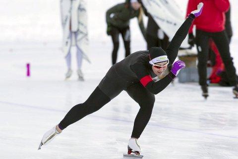 Til topps: Martine Lilløy Bruun vant juniorenes sprintklasse sammenlagt. Arkivfoto: Sander Hvammen