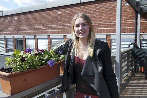 Rikke Oline Grava fra Sandefjord er ny ledert for AUF i Vestfold.