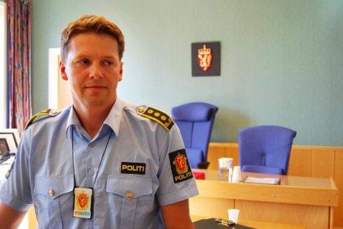 Politiadvokat Torje Arnesen ba om fire ukers varetekt for 34-åringen.