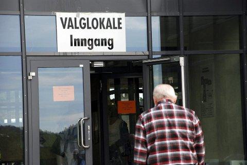 VALGLOKALE: Det er ett fett hvor du stemmer på valgdagen så lenge du stemmer i den kommunen du er folkeregistrert. (Arkivfoto)
