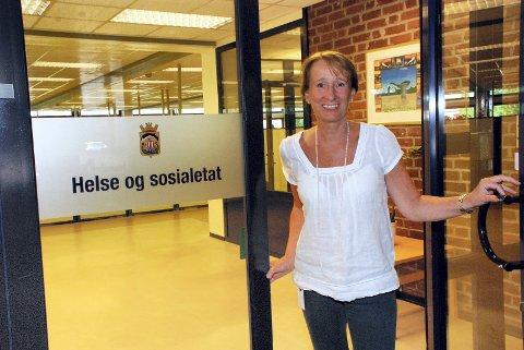 GLAD: – Veldig gledelig, og kjærkomment, sier kommunalsjef Lise Tanum Aulie om pengene Sandefjord kommune nå får fra staten. Bildet er tatt ved en tidligere anledning.