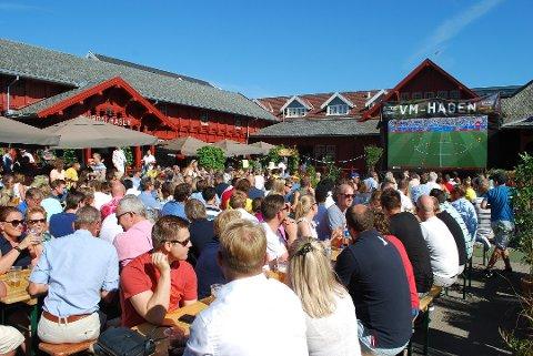 VM I HAGEN: – Det har vært en fantastisk sommer med et omfattende og variert program og rekordmange gjester. Vi har hatt hele 40.000 besøkende bare i sommer, sier Edvard Gran i Kurbadhagen og Breili AS.