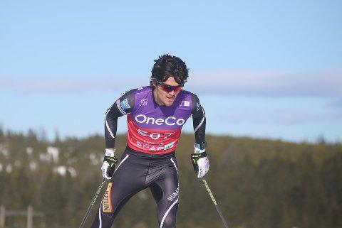 MYE BEDRE: Eirik Bergene Aabrekk fra Runar har opplevd stor framgang denne vinteren.