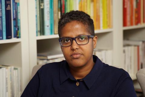 PRISVINNER: Amal Aden en norsk forfatter og foredragsholder med somalisk opphav.
