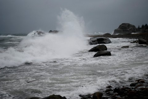 ADVARER: La småbåtene ligge, er anbefalingen fra meteorologene.