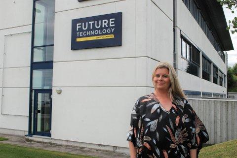 NY LEDER: Marianne Ask Lervik gleder seg til å ta fatt på nye arbeidsoppgaver som leder i Future Technology.