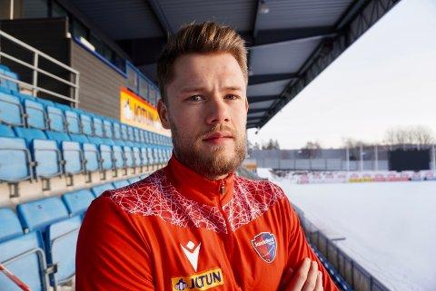 NY I STALLEN: Fredrik Due (28) er SFs ferskeste signering.