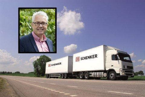 UTSLIPPSKUTT: Daglig leder Jan Carsten Gjerløw i Evig Grønn AS har fått med seg en rekke store selskaper på laget for å få ned utslippene innenfor tungtransporten.