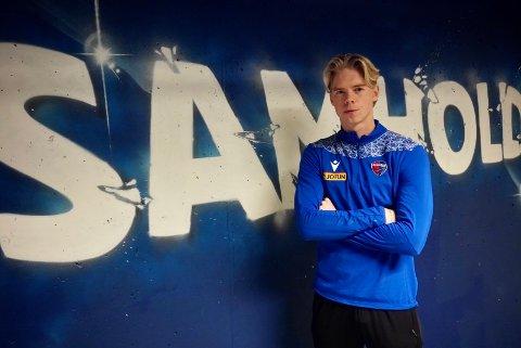 TO NYE ÅR: Andrè Sødlund er tilbake i SF, snaue tre år etter han pakket bagen og dro videre til Skien.