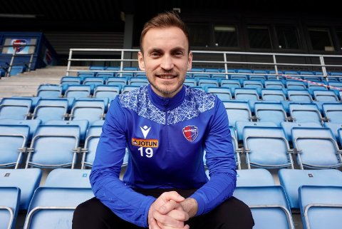 ETT ÅR: Amer Ordagic (27) er klar for Sandefjord Fotball. Bosnieren har signert en ettårs kontrakt med klubben i første omgang.
