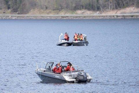 SONAR: Sandefjord Røde Kors er den enste avdelingen i Norge som har en slepesonar.