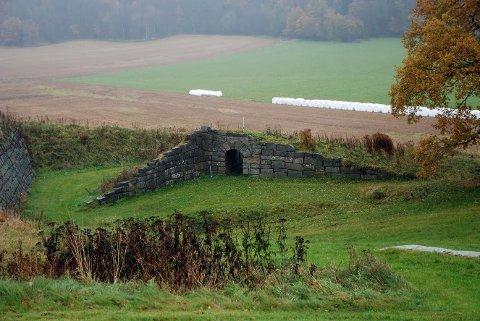 Her blir det forestilling: Amfiet ved Storedal kultursenter.