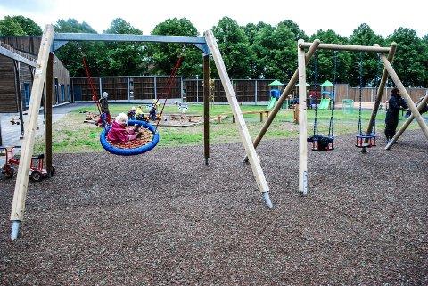 BLIR DYRERE: Maksprisen for barnehageplass økes. Dette bildet ble tatt i nye St. Olavs barnehage i høst.