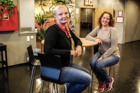 FOR BARN OG UNGE: Ingvild Toftner og Margrethe Stang ser fram til å gi flere barn og unge mulighet til å delta på kulturelle aktiviteter.
