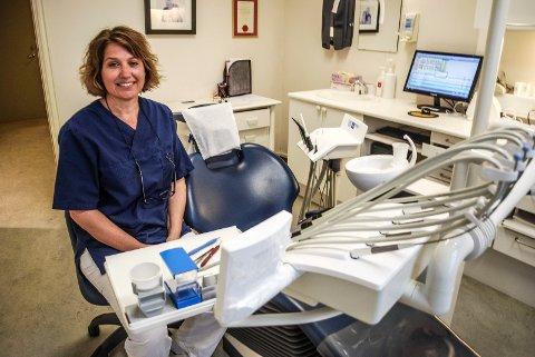 Anne-Sophie Indrevær, tannlege