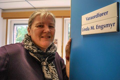 EN EPOKE ER OVER: Linda Engsmyr sier om to uker takk for seg som varaordfører. En jobb hun har hatt i åtte år.