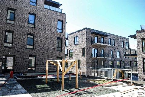 STORGATEN TERRASSE: Prisene startet på 2,3 millioner for leilighetene i Storgaten Terrasse.