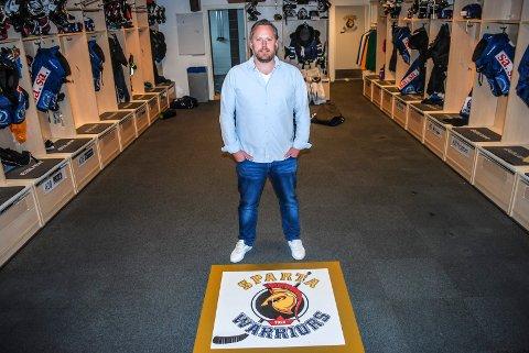 Vanskelig tid: Henning Svendsen er daglig leder i Sparta og innrømmer at det er tøffe tider for klubben om dagen.