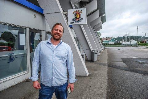FORNØYD: Daglig leder Henning Svendsen er fornøyd med det økonomiske resultatet i Sparta i 2019.