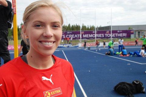 Magdeli Støten håper at hennes etterlengtede mesterskapsdebut i Gävle blir et hyggelig minne. (Foto: Jon Wiik.)