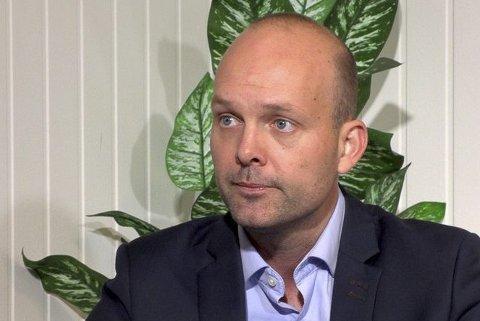 VALG-THRILLER: Sindre Martinsen-Evje føler seg ikke trygg på at han får beholde ordførerjobben.
