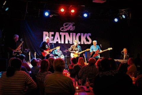 Til Glenghuset: Veteranene i Beatniks spiller i Glenghuset onsdag 4. mars.