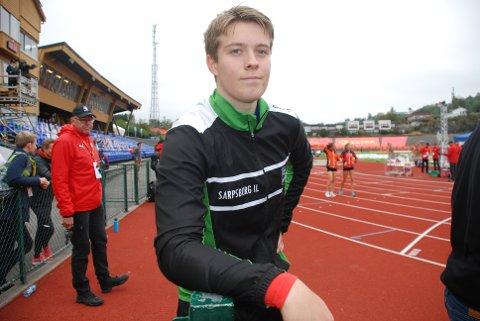 ERFARING: Benjamin Gressløs tok med seg både erfaring og inspirasjon fra NM-debuten, men skulle gjerne ha prestert bedre i selskap med norgeseliten.