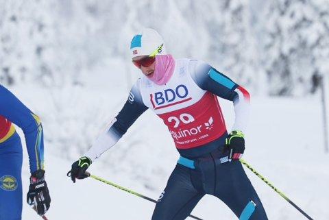 BEST PÅ KORT: På sprint har Jørgen Lippert nivå til å kjempe langt framme i seniortoppen. Kommende lørdag er det NM på den distansen.