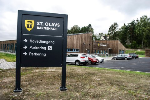 Åpen barnehage avdeling sentrum er tilknyttet St. Olavs barnehage.