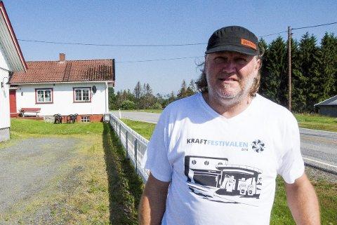 BOPLIKT: Gårdeier Tommy Leret ønsker ikke selv å bo på Sulerud Nordre, men        håper kommunen kan si ja til hans søknad om å oppfylle boplikt ved stedfortreder.