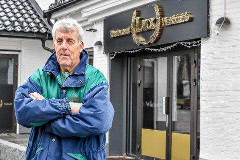Ivar Gustavsen har bedt namsmannen å kaste Lux ut av lokalene sine.