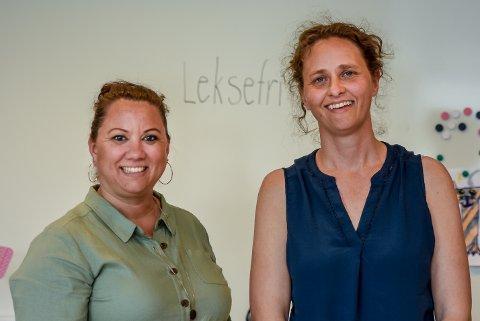 Rektor på Trømborg skole, Laila Kjelsnes Studsrud, og lederen for FAU på skolen, Olaug Dvergsnes Eriksen, er fornøyd med leksefriordningen. Likevel blir det litt endringer til neste år.