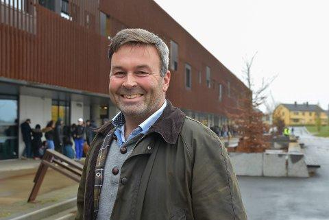 SPENT: Gunnar Aandstad blir ny rektor på Askim ungdomsskole.