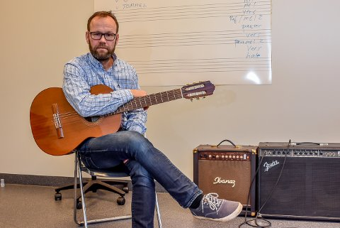 Rektor kulturskolen, Øyvind Lunde, synes det er synd hvis det blir kuttet i budsjettet deres.