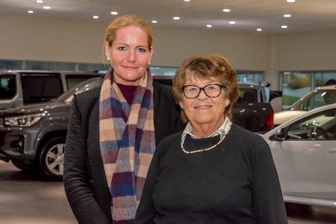 Heidi Engen og Aud Engen.