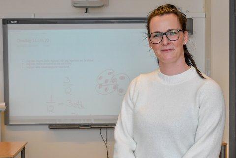 Astrid Elisabeth Bærby Holt er lærer på Mysen skole. Hun er imponert over innsatsen til foreldre og elever.