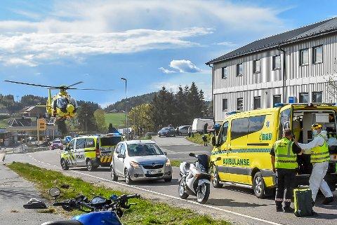 Ulykken i Osloveien i Askim.