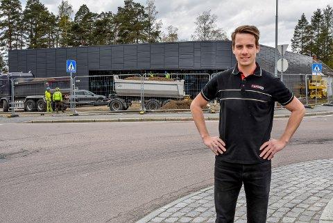 Spar-butikken på Momarken i Mysen – Torstein Nymoen