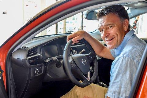 Tommy Hjørnerud (48) starter som Opel-selger hos Auto Askim.