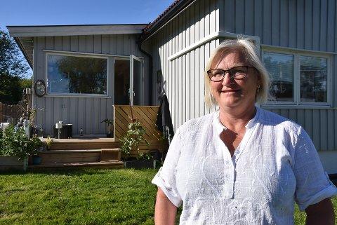 FORNØYD: Hanne Lund Olsen er fornøyd med et forlik.