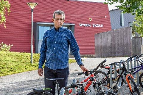 ALVORLIG: Rektor ved Mysen skole Thorfinn Oustorp sier han ser alvorlig på hendelsen. Arkivfoto.