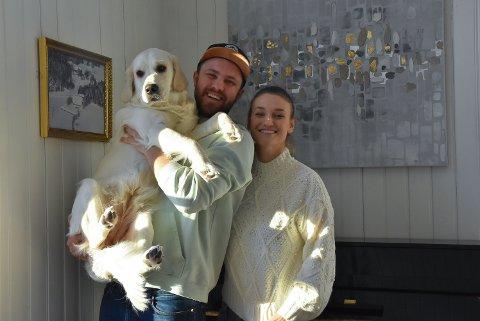 ROLIG TILVÆRELSE: Lykke, Magnus, Oda og alle de andre dyrene har funnet et sted å kalle hjem i Ringvoll.