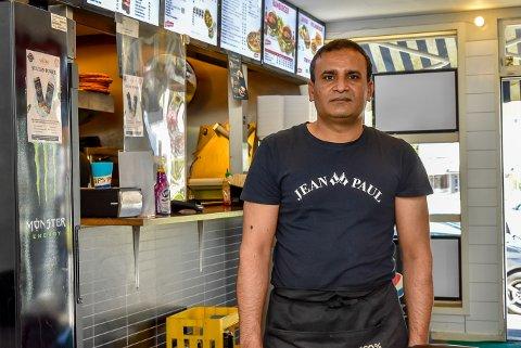 Naveed Chaudhry Ahmed har troen på ny restaurant i Mysen.