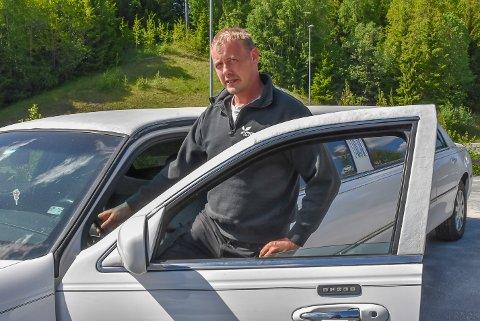 Per Inge Norvik har ønsket seg en limousin i mange år.