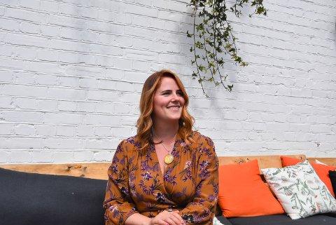 ENTREPENØR: Korona har tvunget sanglæreren Linn Rambøl Skofsrud til å tenke nytt.
