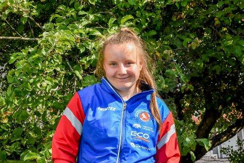 HAR ET HÅP: Maiken Gundersen har hatt en drøm om å få delta i Special Olympic World Games en eller annen gang. Nå kan det bli en realitet.