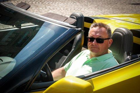 PRESIDENT: Jan Otto Finne er president i amcar-klubben, og driver hobbybedriften BF motor.