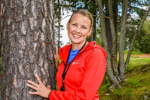 NY I JOBBEN: Tina Charlotte Johansen er ansatt som frisklivsveileder i Indre Østfold kommune. Hun får ansvaret for innbyggerne i Askim.